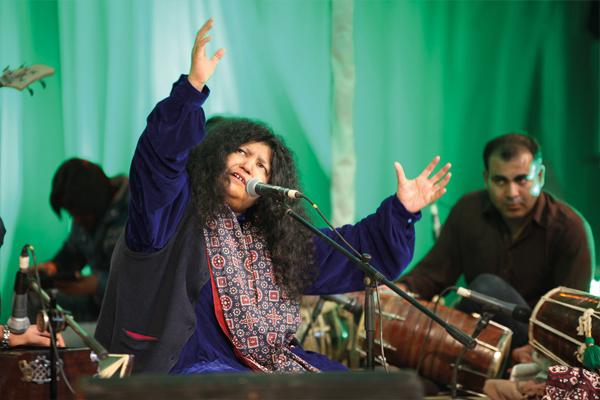 Sufi singer Abida Parveen